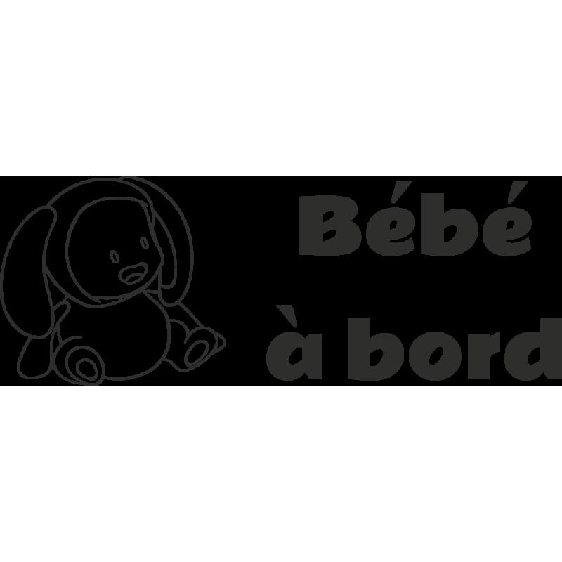 Sticker Bébé à Bord Bébé