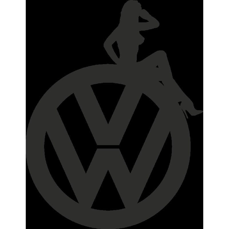 Sticker Sexy Logo Vw