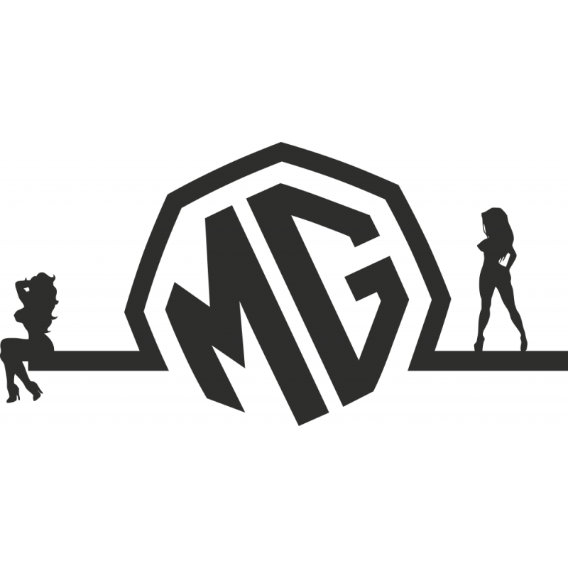 Sticker Sexy Logo Mg