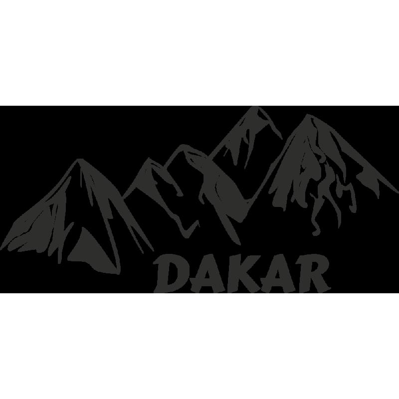 Sticker Montagne Dakar