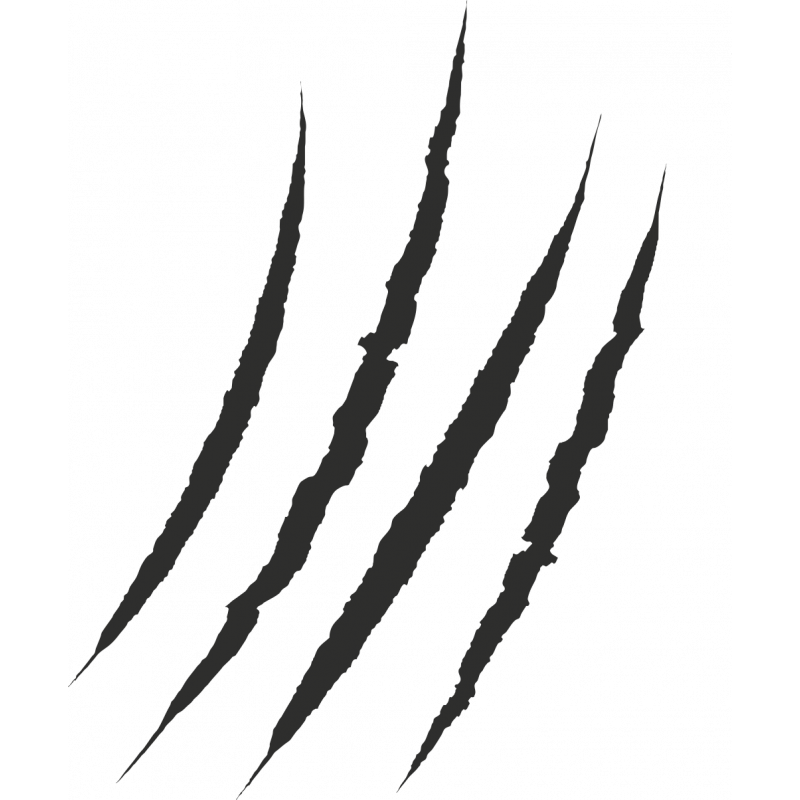 Sticker Griffure