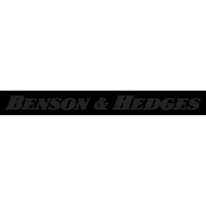Sticker Benson & Hedges