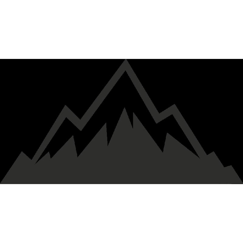 Sticker Montagne