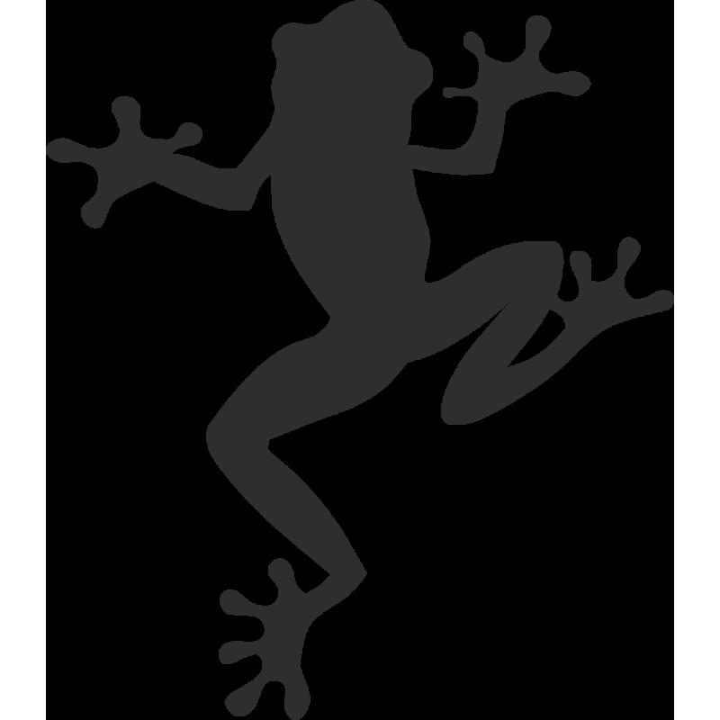 Sticker Grenouille Haut