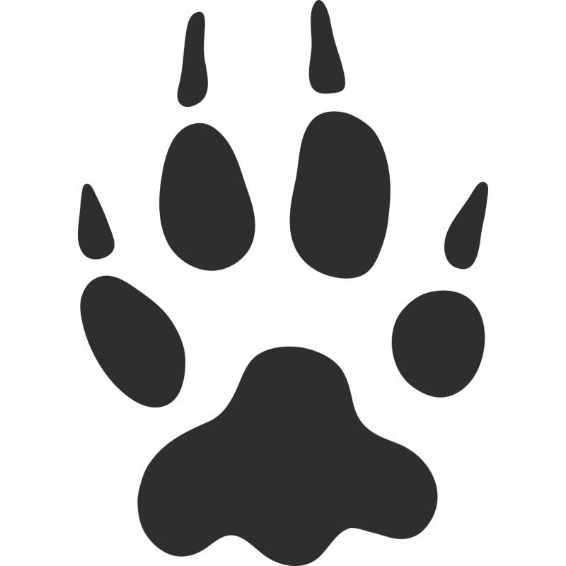 Sticker Patte Animal