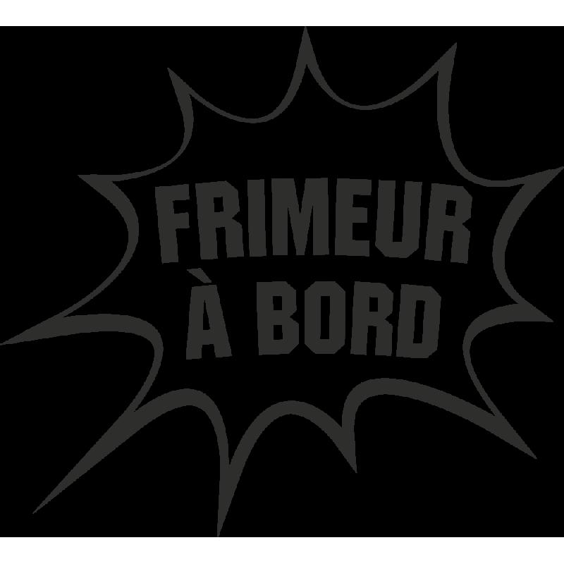 Sticker Humour Frimeur