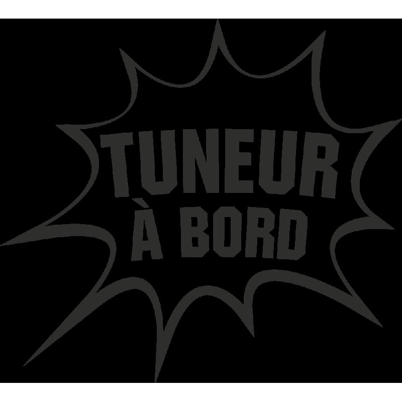Sticker Humour Tuneur