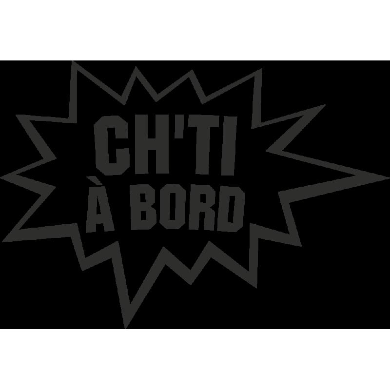 Sticker Humour Ch'ti