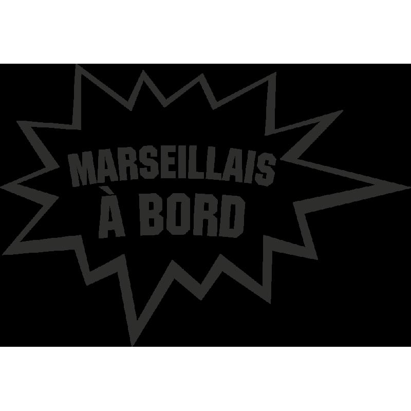 Sticker Humour Marseillais