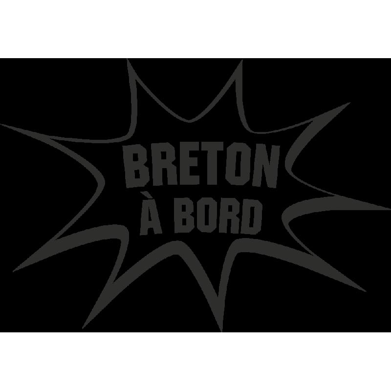 Sticker Humour Breton