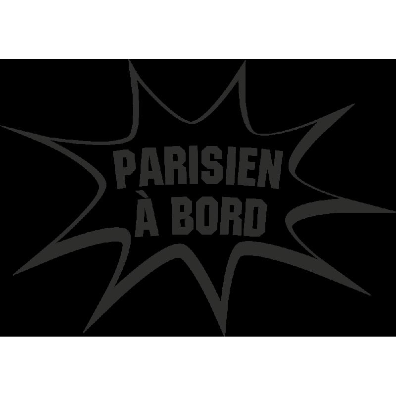 Sticker Humour Parisien