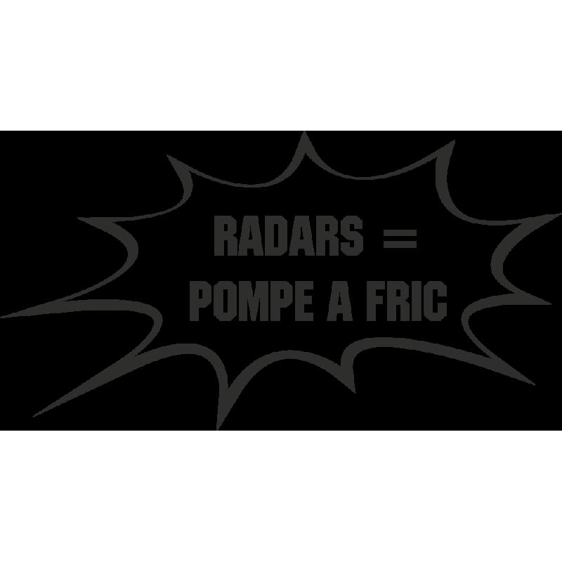 Sticker Humour Radar