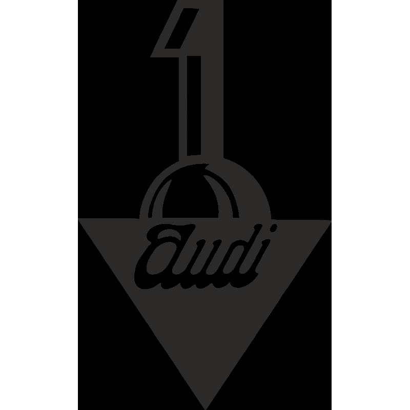 Sticker Logo Audi 1909