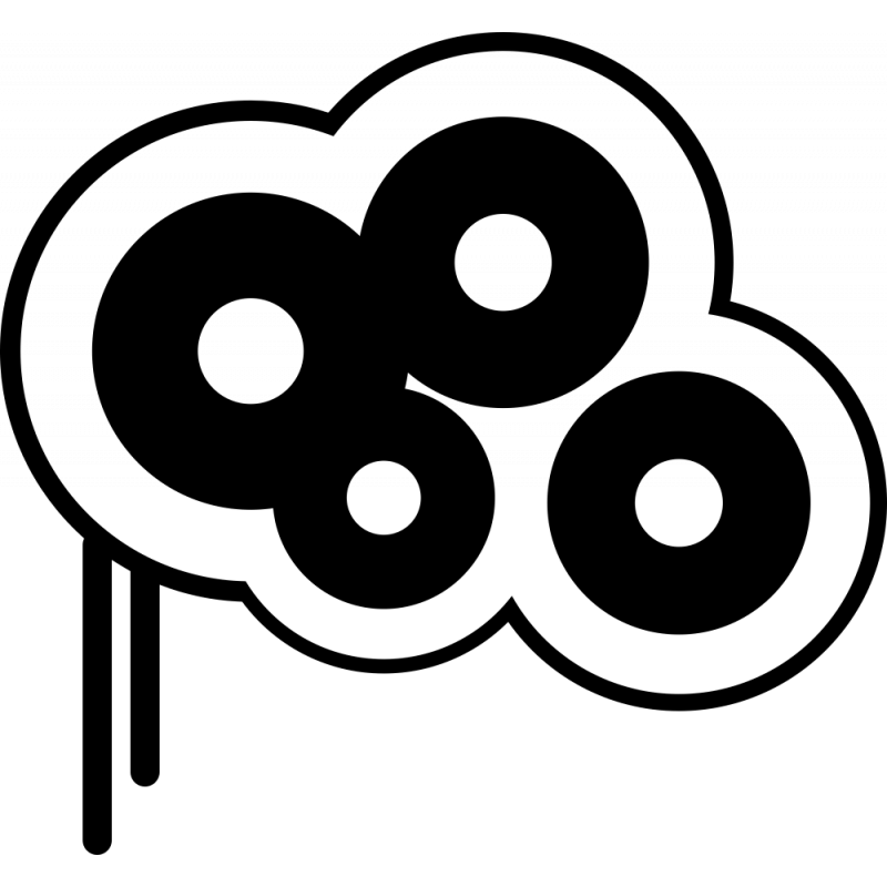 Sticker Cercle Moderne