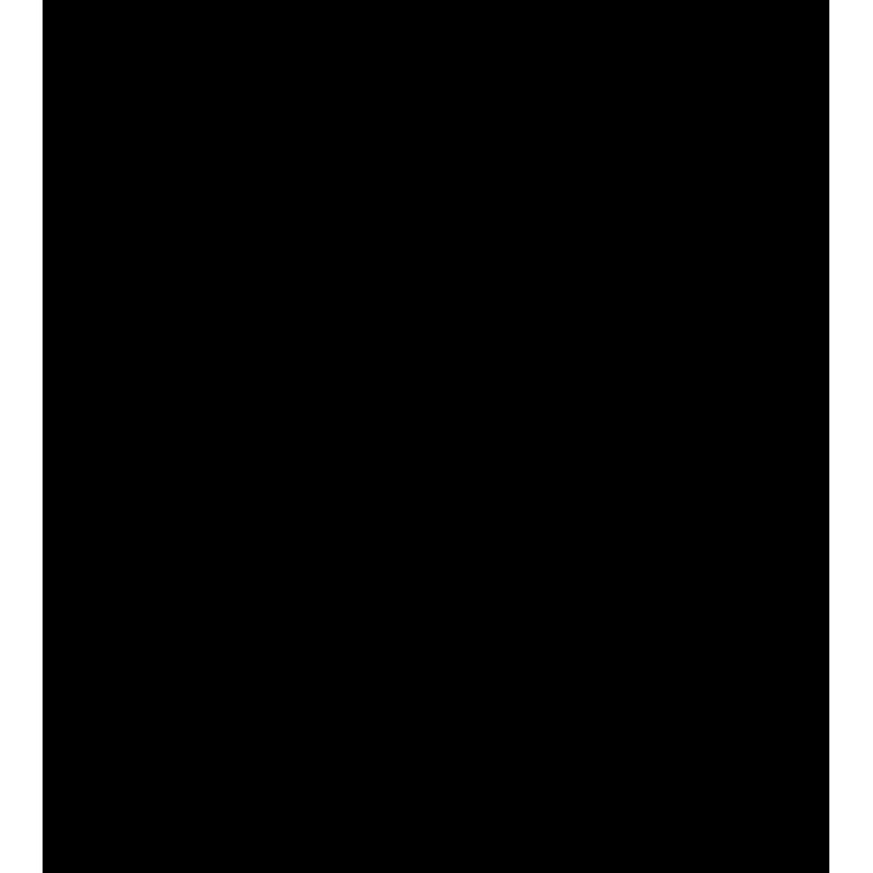 Sticker Nuage Moderne Rayé