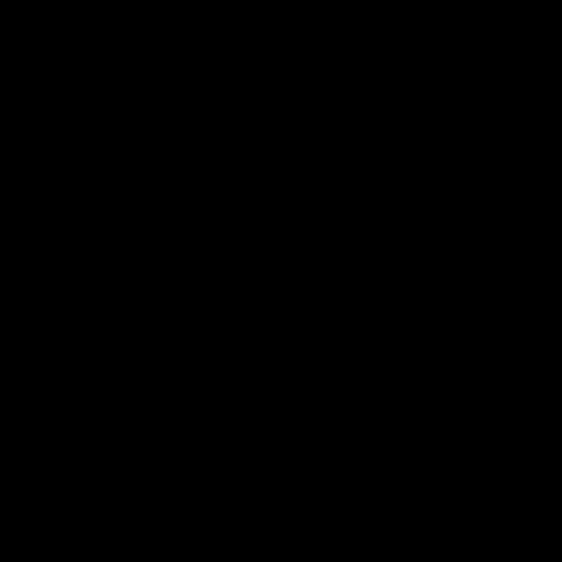 Sticker Nuage Moderne Contour