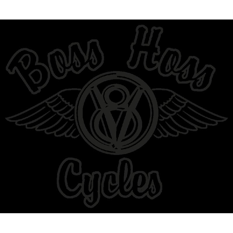 Sticker Boss Hoss