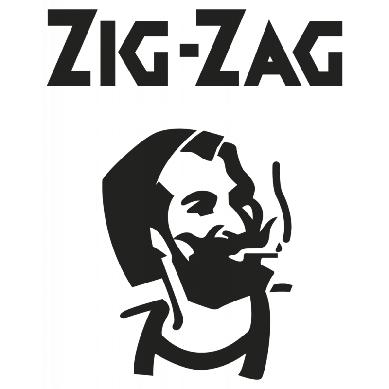 Sticker Zig Zag