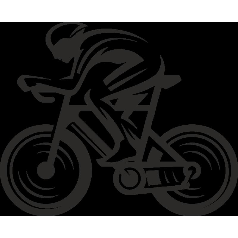 Sticker Métier Loisirs Sport Cycliste