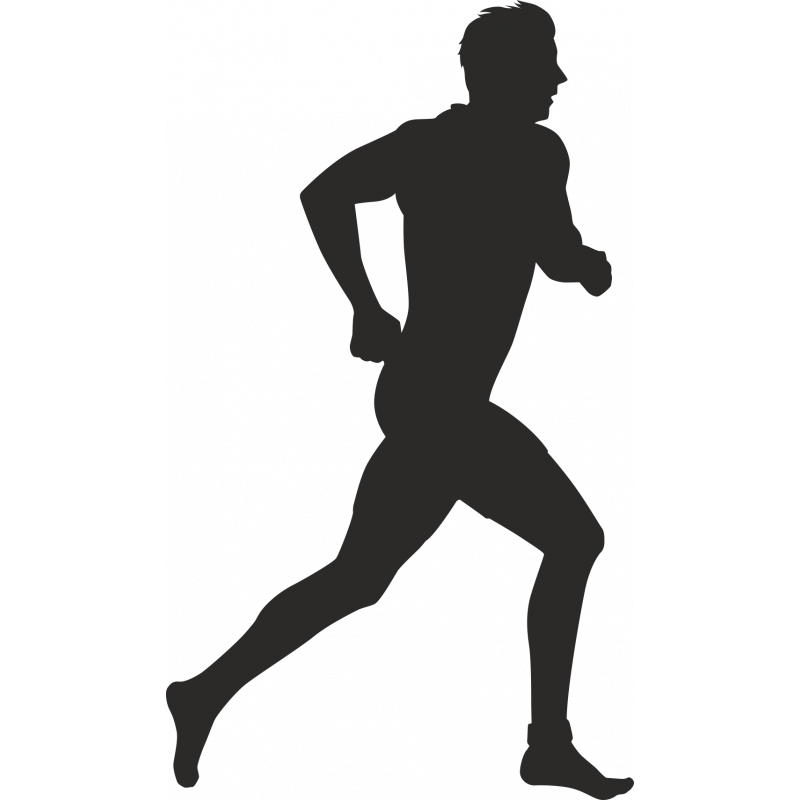 Sticker Métier Loisirs Sport Running