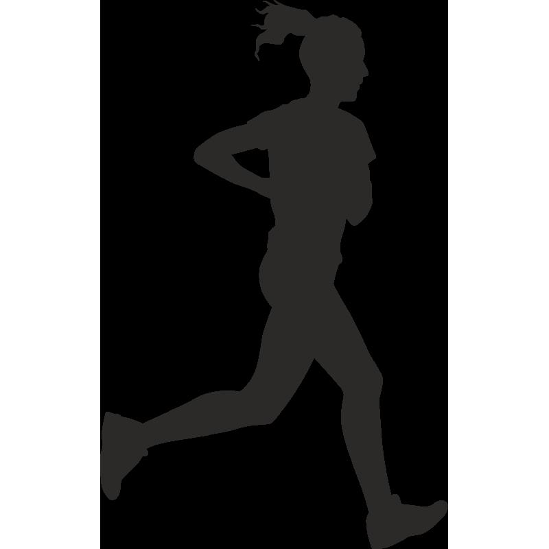 Sticker Métier Loisirs Sport Running 2