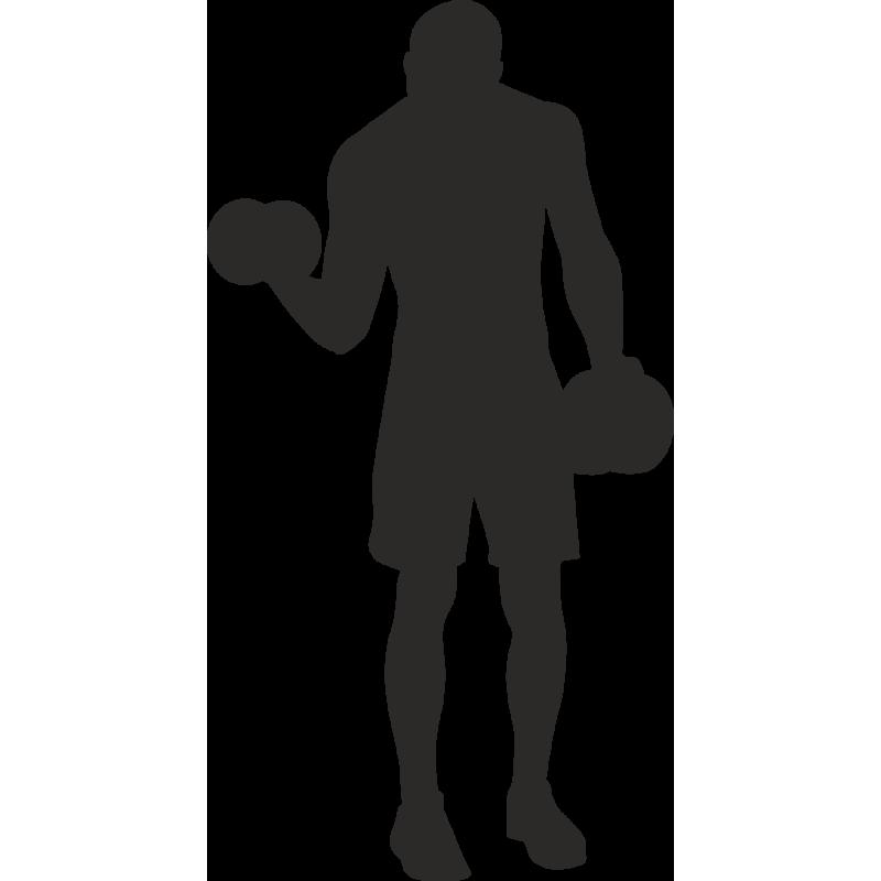 Sticker Métier Loisirs Sport Musculation