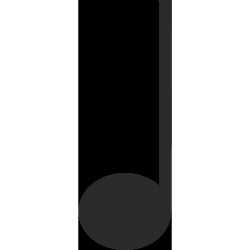 Sticker Métier Loisirs Musique Note 1