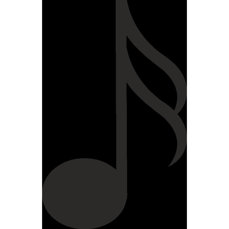 Sticker Métier Loisirs Musique Note 2