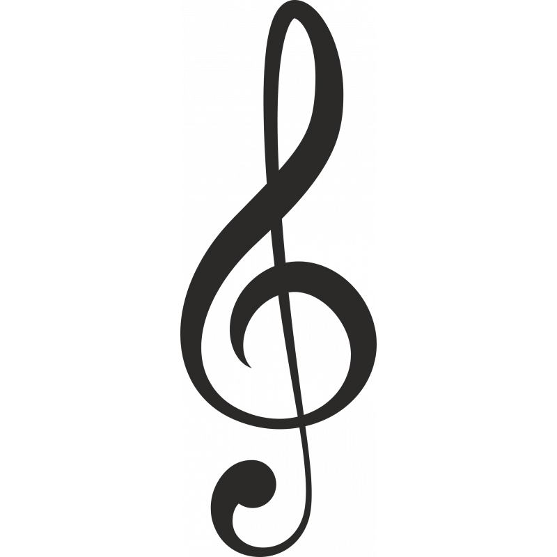 Sticker Métier Loisirs Musique Note 3
