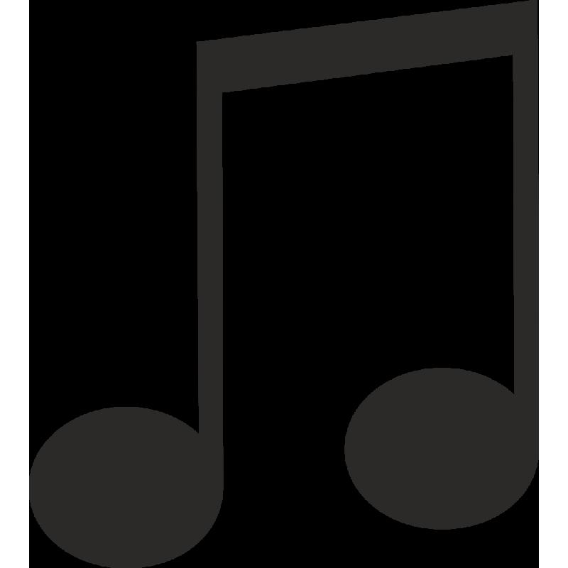Sticker Métier Loisirs Musique Note 5