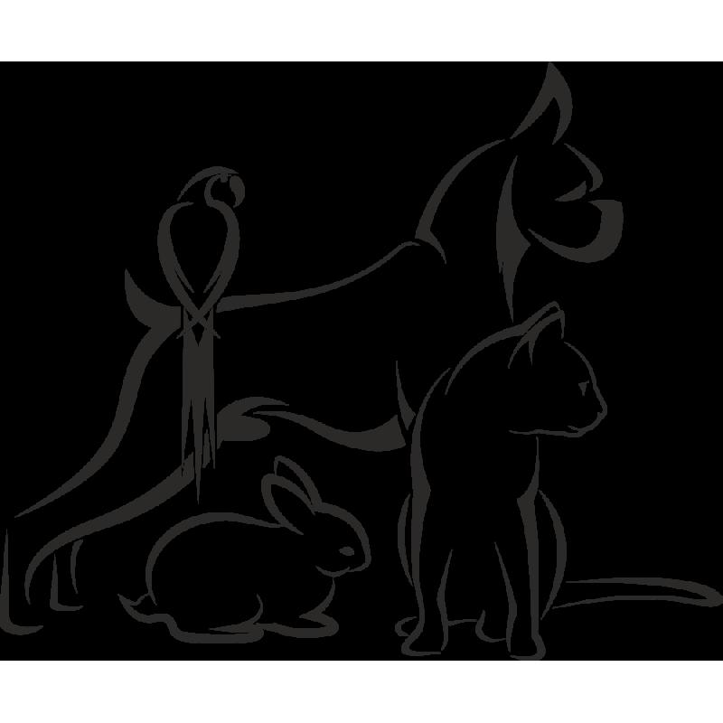 Sticker Métier Santé Vétérinaire 1