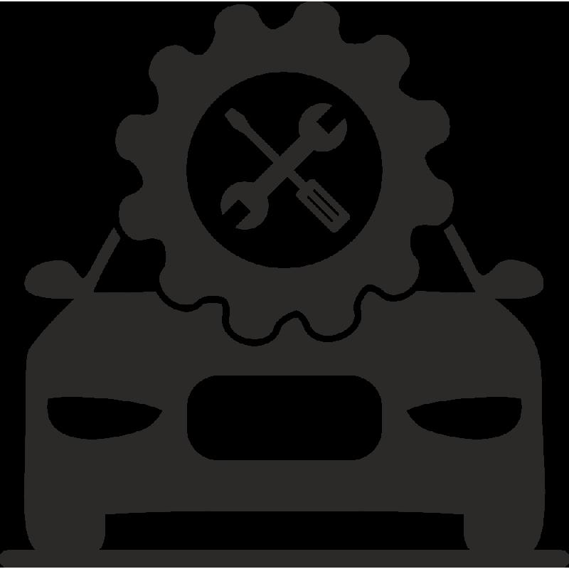 Sticker Métier Mécanique Garage