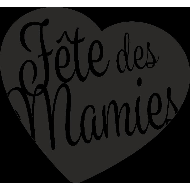 Sticker Fêtes Des Mamies