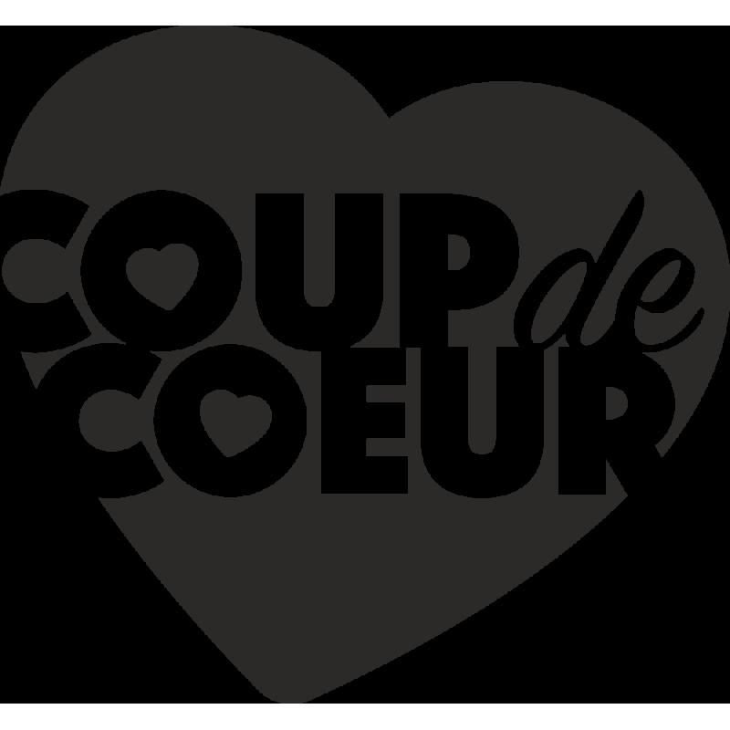 Sticker Coup De Coeur