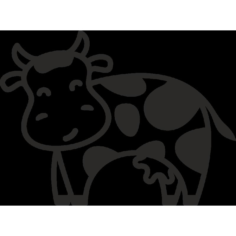 Sticker Ferme Vache 2