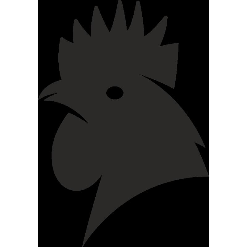 Sticker Ferme Coq 2