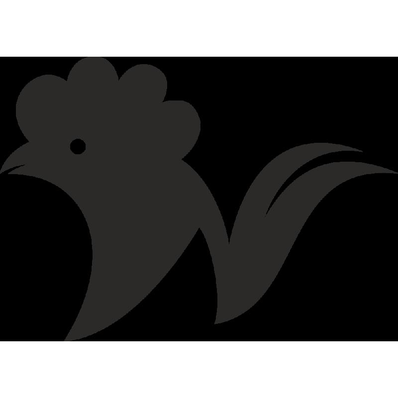 Sticker Ferme Coq 4