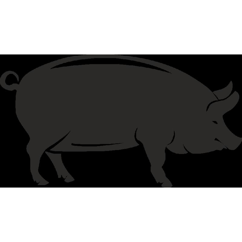 Sticker Ferme Cochon