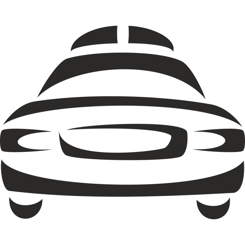 Sticker Logo Taxi
