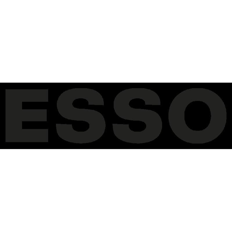 Sticker Esso