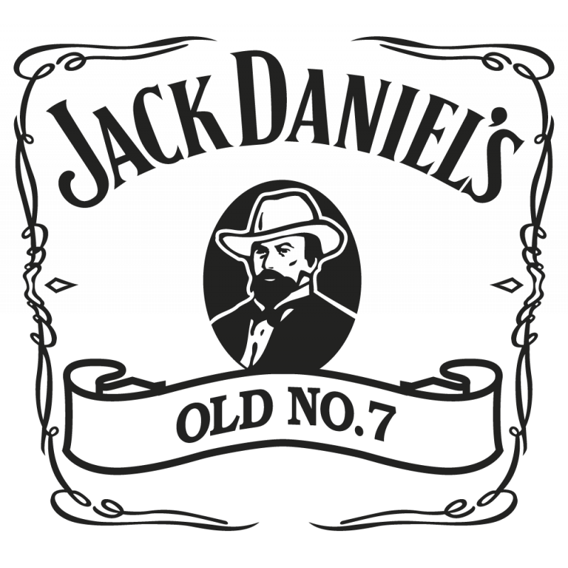 Sticker Jack Daniel