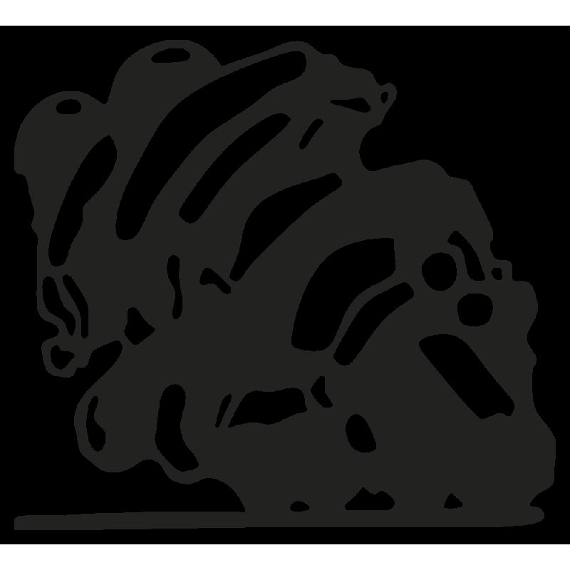 Sticker Moto Course