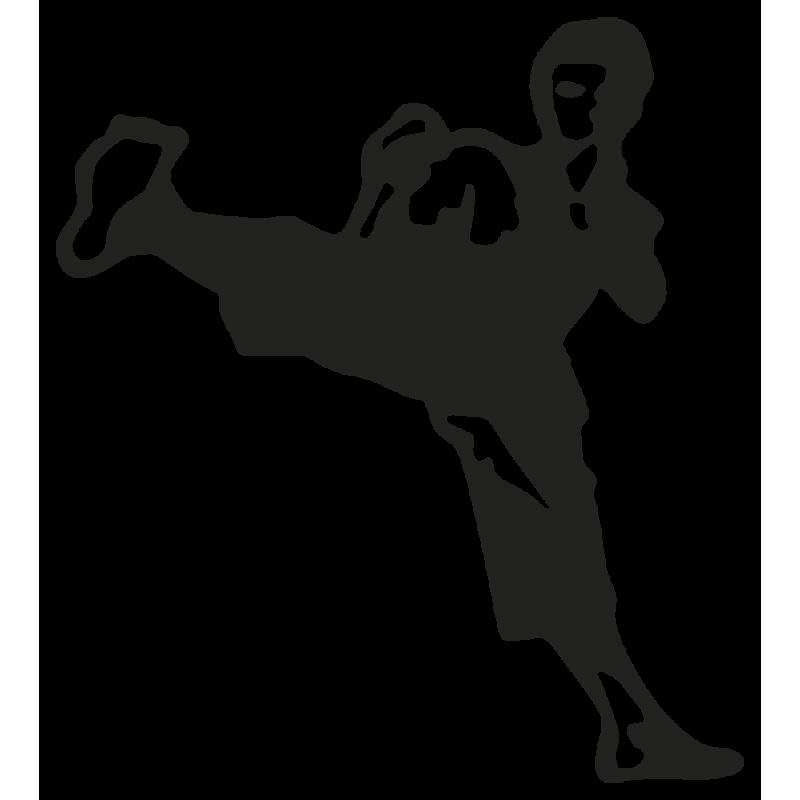 Sticker Karate