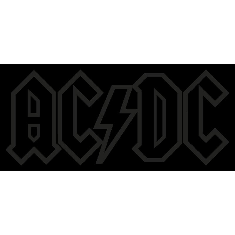 Sticker Acdc