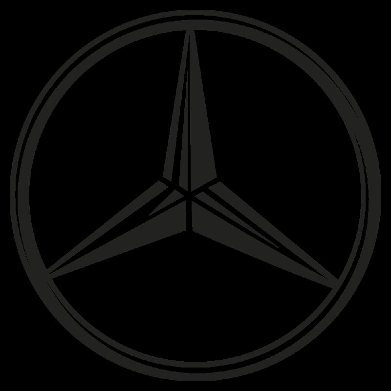 Sticker Mercedes
