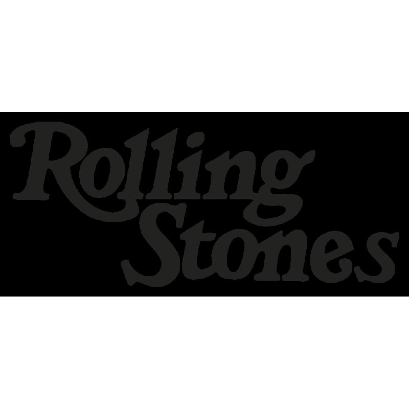 Sticker Rolling Stones