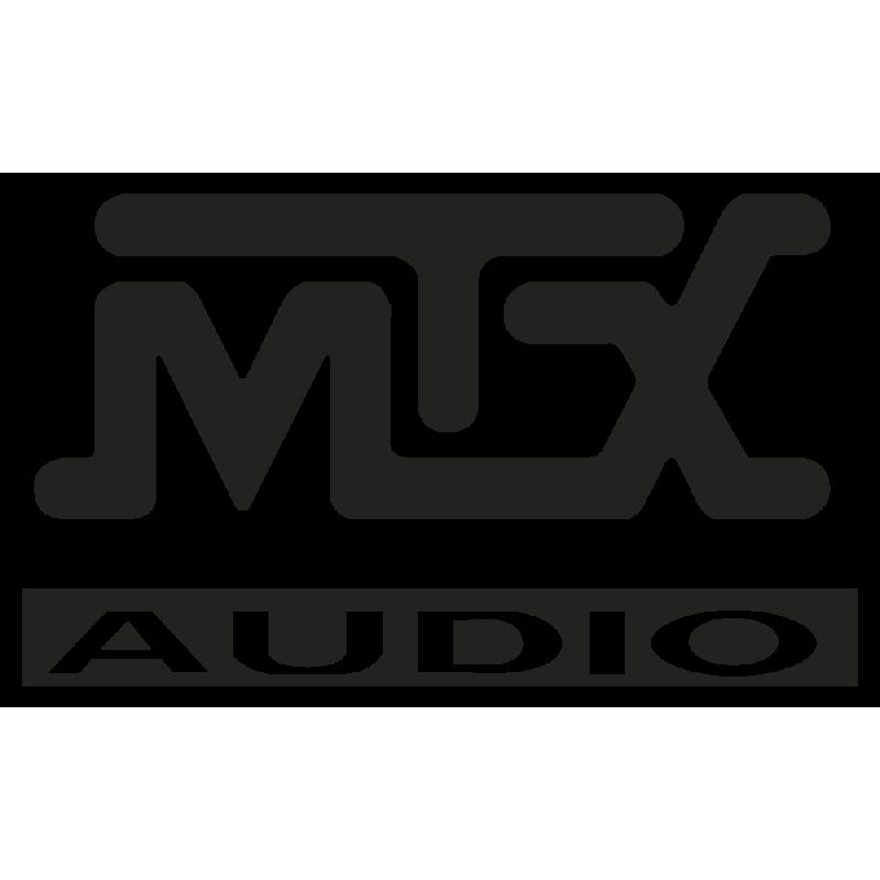 Sticker Mtx Audio