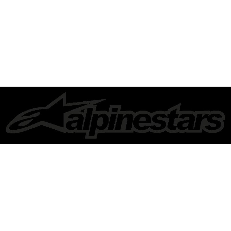 Sticker Alpinestars