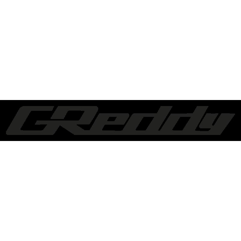 Sticker Greddy