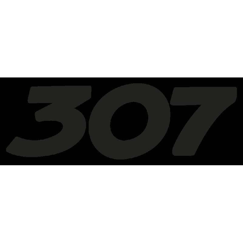 Sticker 307 Peugeot
